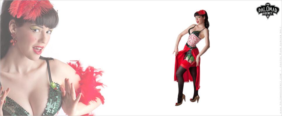 Big Show Burlesque - Hazel Honeysuckle