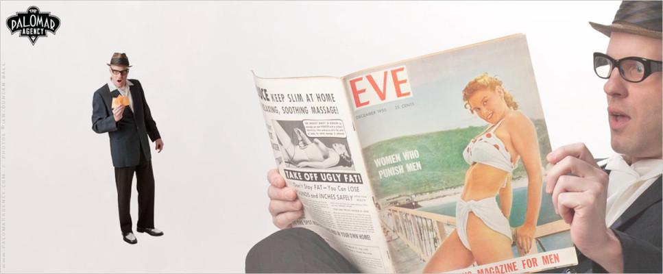 Big Show Burlesque - Pete Redmond
