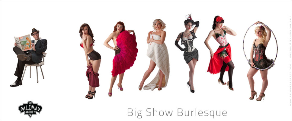 Welcome - Big Show Burlesque
